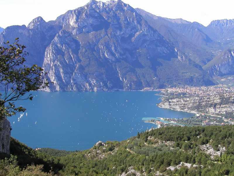 Panorama dal Monte Baldo